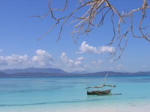Una spiaggia del Madagascar