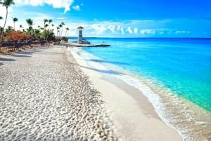 Scorcio della spiaggia di Bayahibe