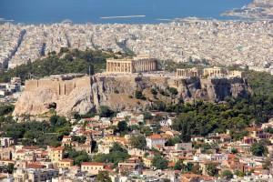 Atene, veduta dall'alto