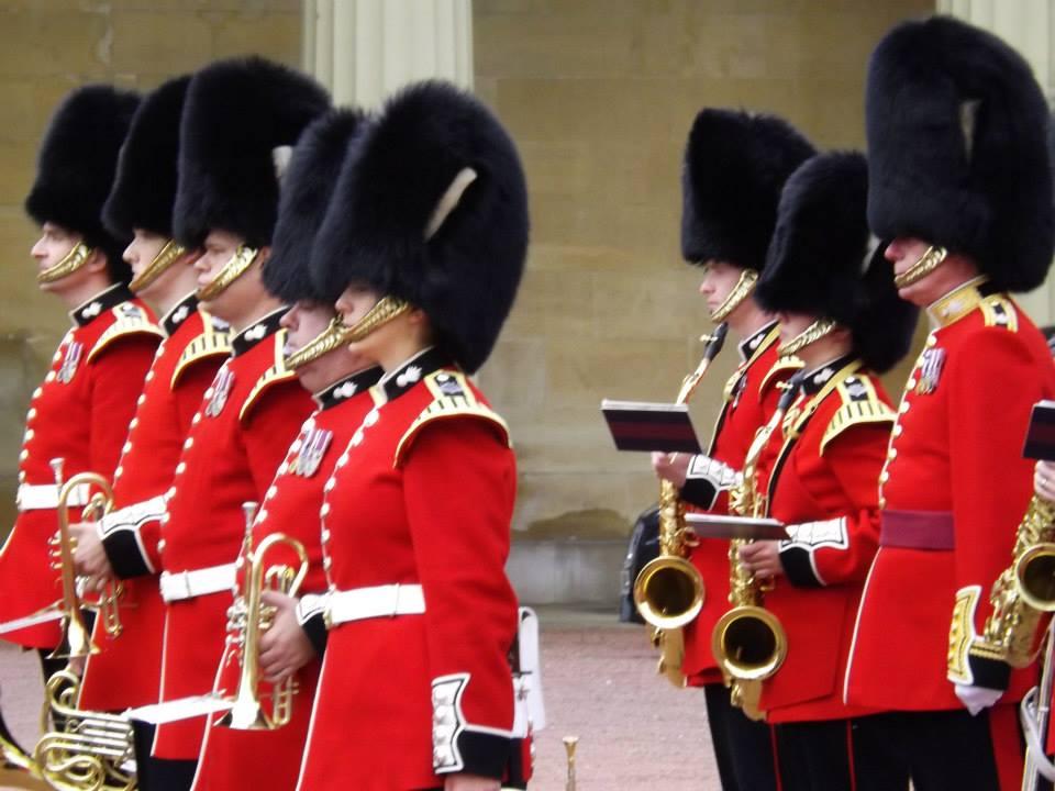 Londra - Cambio della guardia