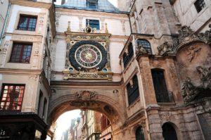 La storia e l'arte di Rouen
