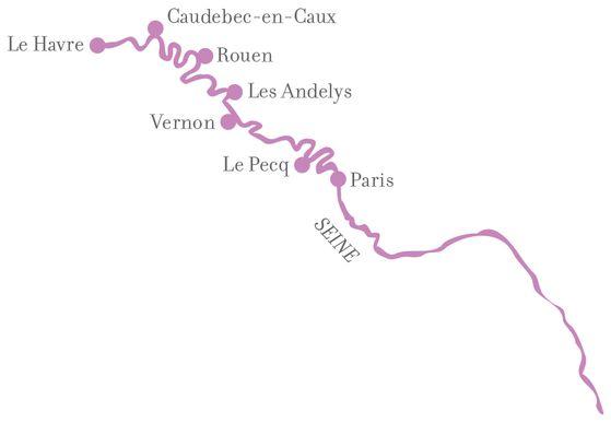 Scopri la Normandia con una crociera sulla Senna